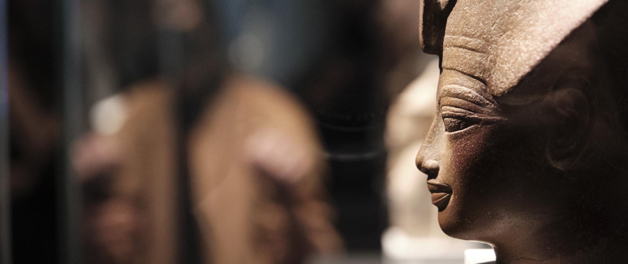 """'Faraón. Rey de Egipto' se podrá visitar en Santiago de Compostela hasta el 15 de agosto.© Xaime Cortizo/Fundación """"la Caixa""""."""