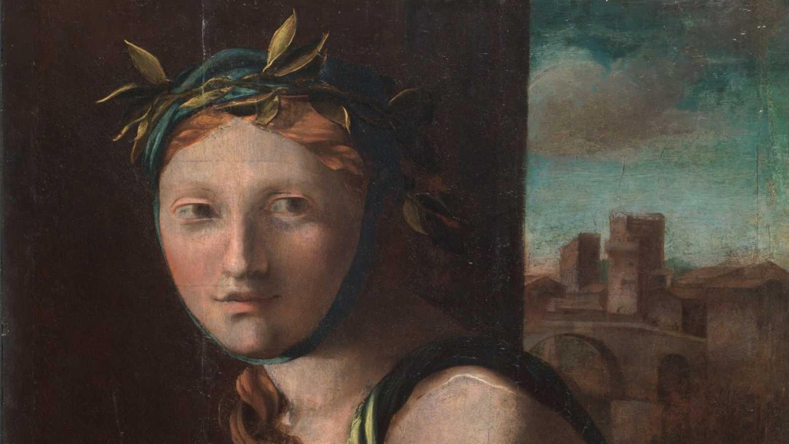 Detalle de 'Alegoría de la Templanza' de Alonso Berruguete. Óleo sobre tabla. 1513-16. Madrid, Museo Nacional del Prado. Adquirido en 2017.