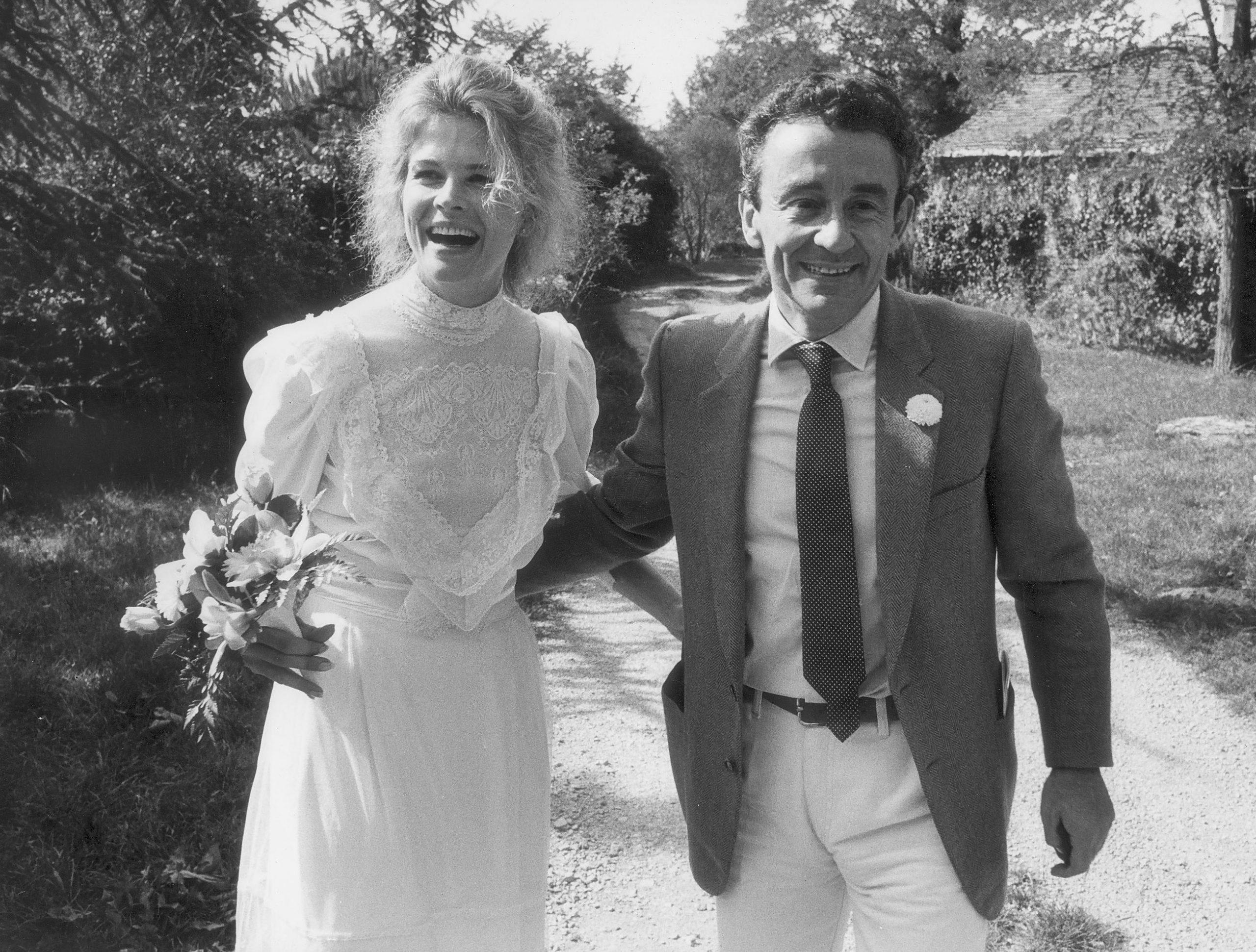 Candice Bergen y Louis Malle.