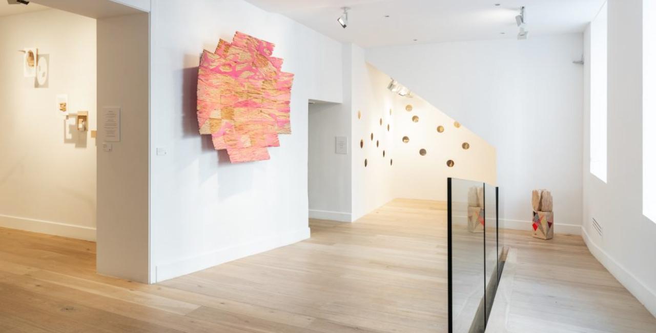 Exposición de Cristina Avello en la Galería Lucía Mendoza.