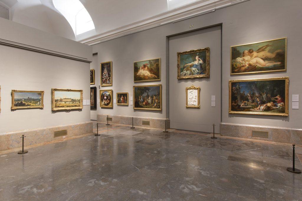 Sala 20 del edificio Villanueva. Museo Nacional del Prado. Colección siglo XVIII. © Museo Nacional del Prado.