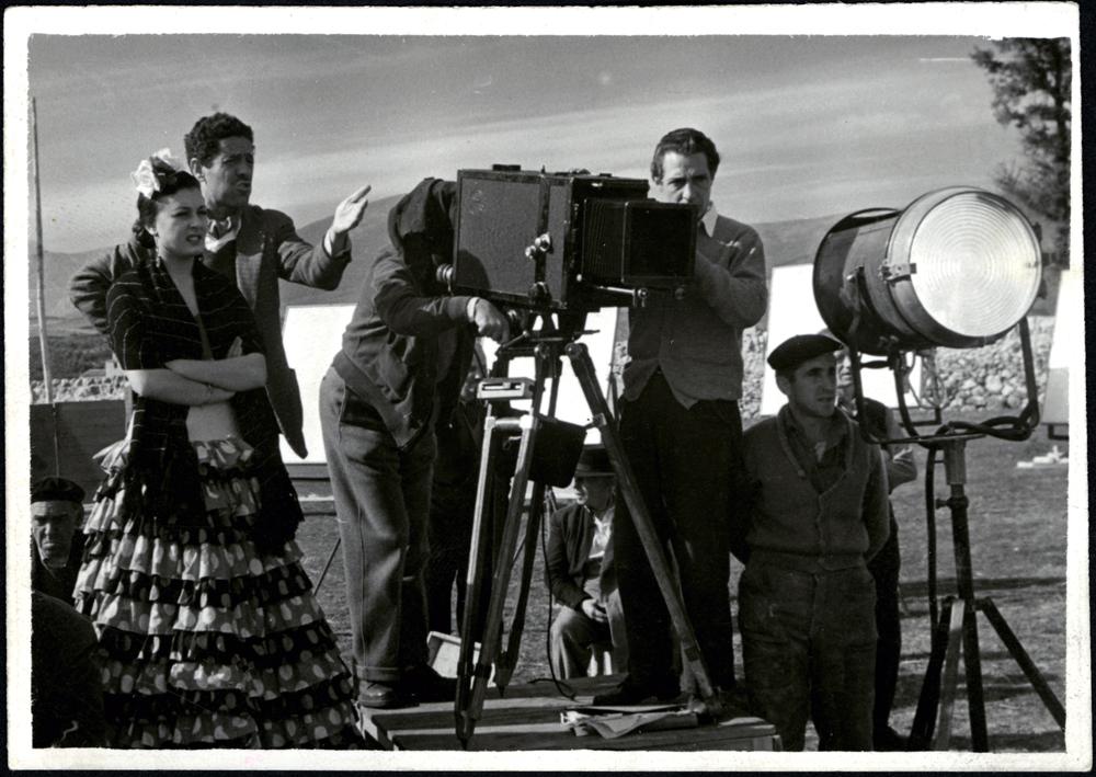 Rodaje de 'Bienvenido Mister Marshall', 1952 © Filmoteca Española.