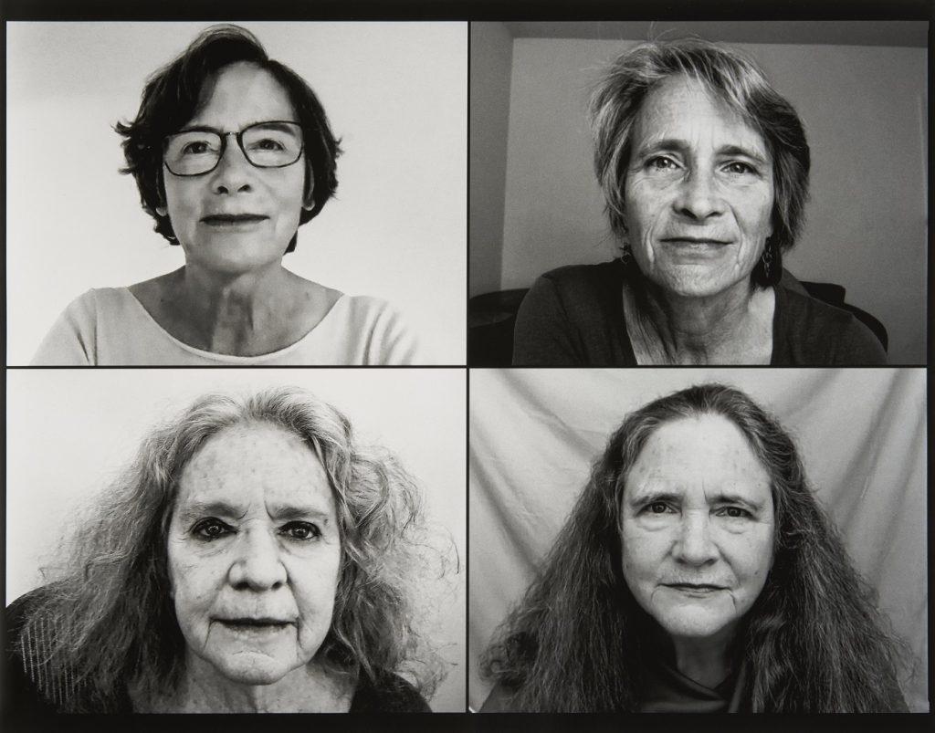 Fundación MAPFRE Collection. © Nicholas Nixon. Las hermanas Brown, 2020. Plata en gelatina.
