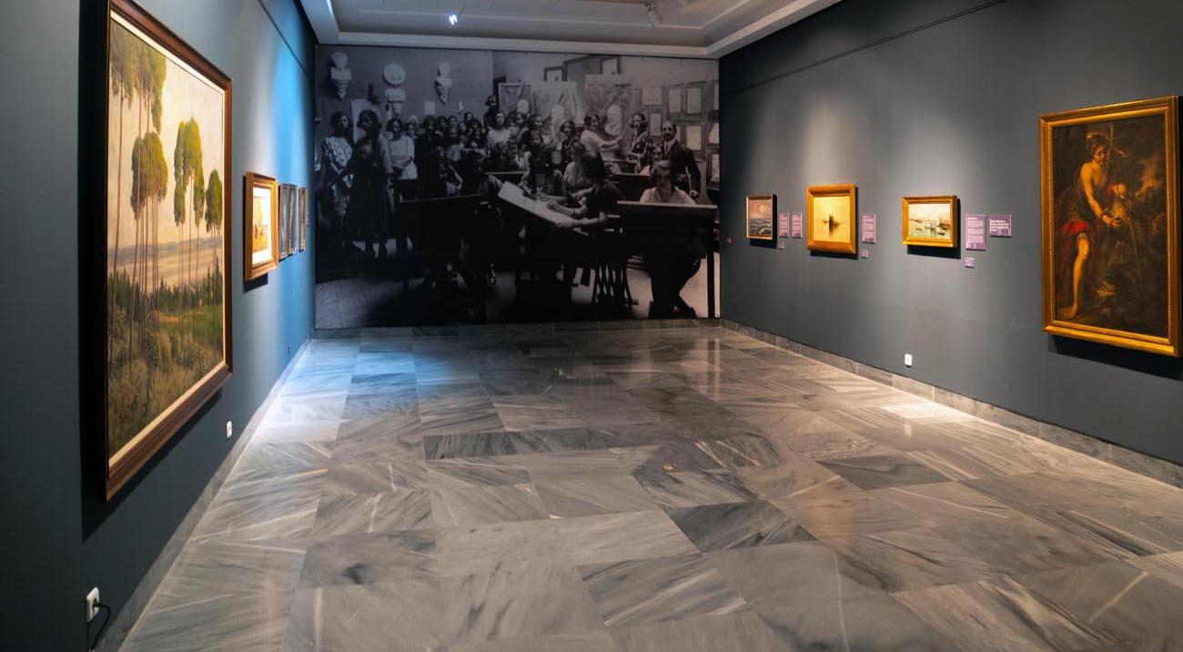 100 años de Bellas Artes en el Museo de Huelva.