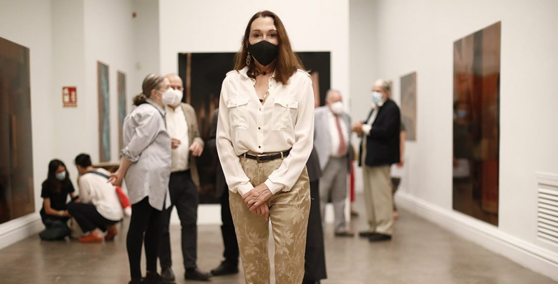 Cristina Iglesias, Premio Nacional de Arte Gráfico 2019. © Luis Domingo.