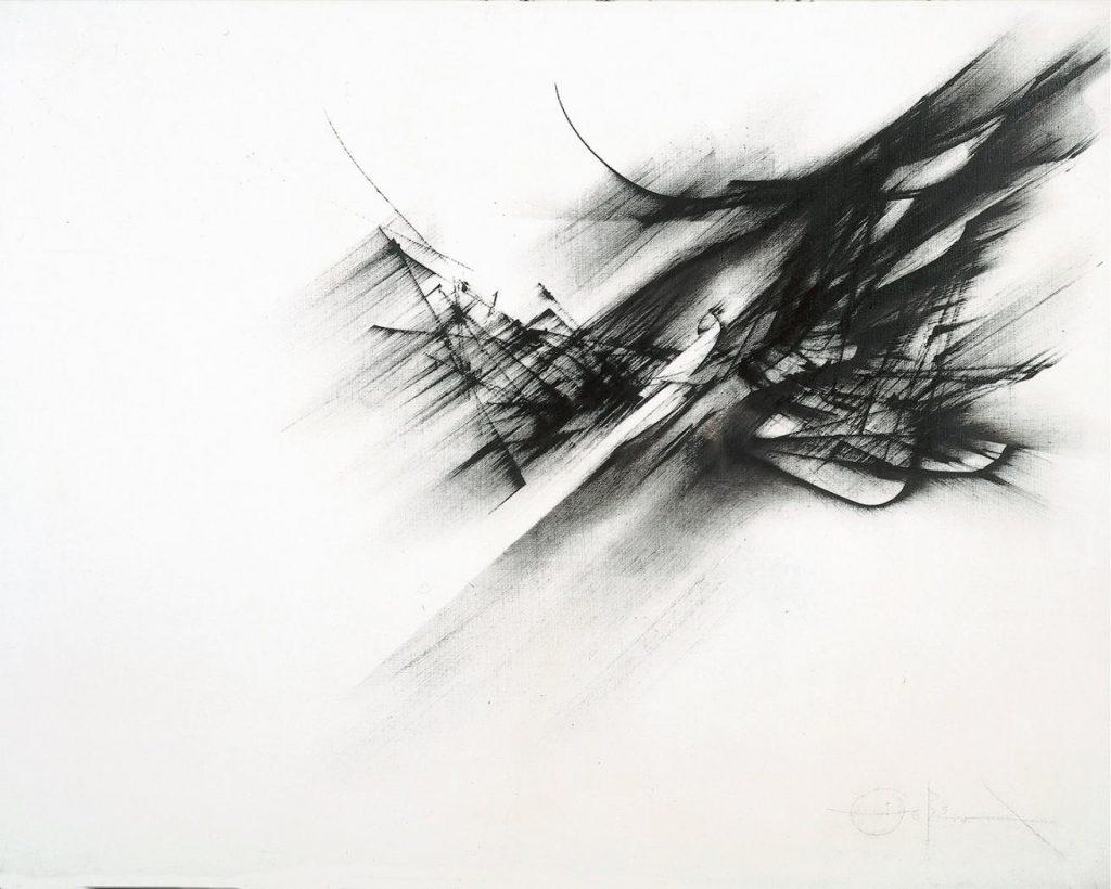 Fernando Zóbel, 'Ornitóptero', 1962. Óleo sobre lienzo.