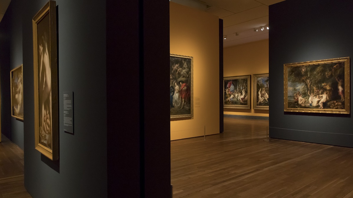 'Pasiones mitológicas: Tiziano, Veronese, Allori, Rubens, Ribera, Poussin, Van Dyck, Velázquez'. © Luis Domingo.