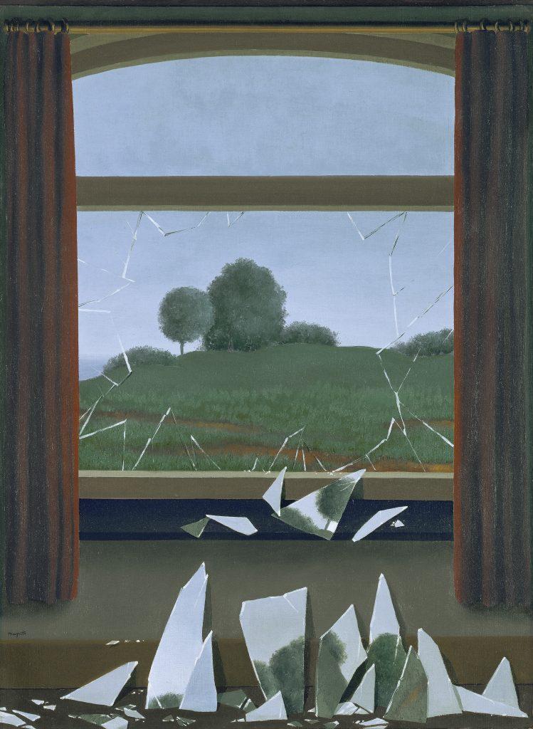 René Magritte. 'La llave de los campos (La Clef des champs)', 1936. Museo Nacional Thyssen-Bornemisza. © VEGAP, Madrid.