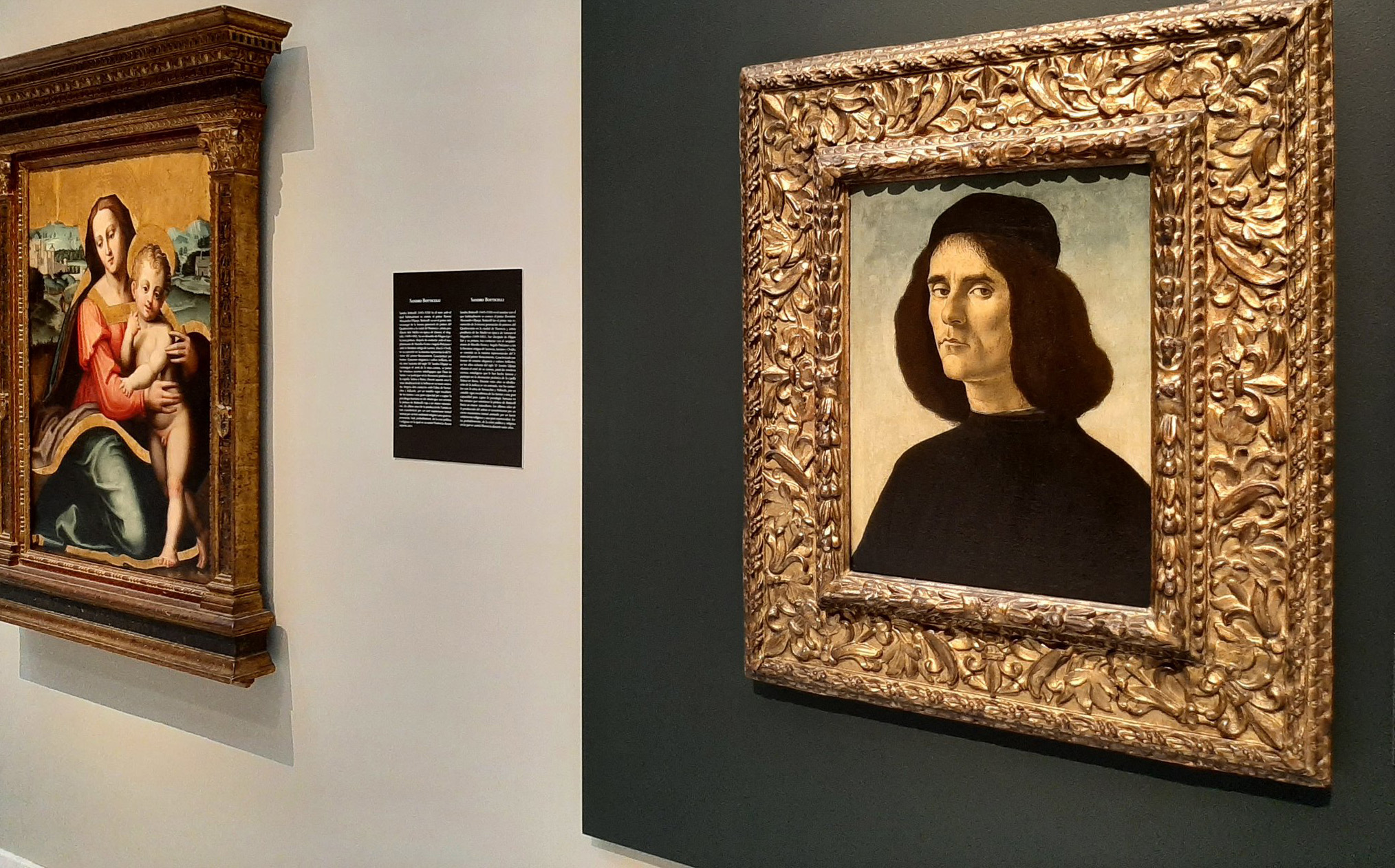 'Retrato de Michele Marullo Tarcaniota' de Sandro Botticelli.