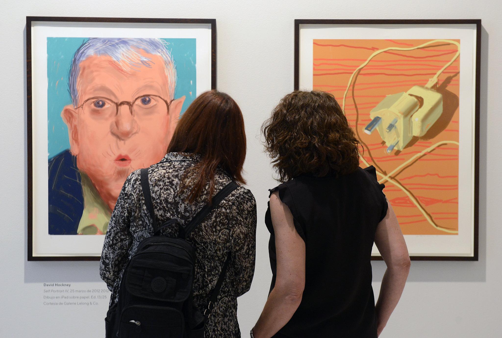 Fundación Bancaja. Exposición 'London Calling. Arte británico hoy. De David Hockney a Idris Khan'.