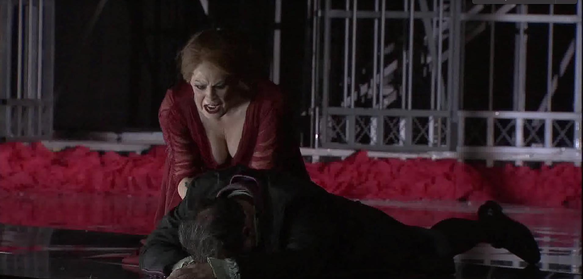 4 de julio de 2021. Sondra Radvanovsky arranca el segundo bis histórico del Teatro Real interpretado por una soprano.