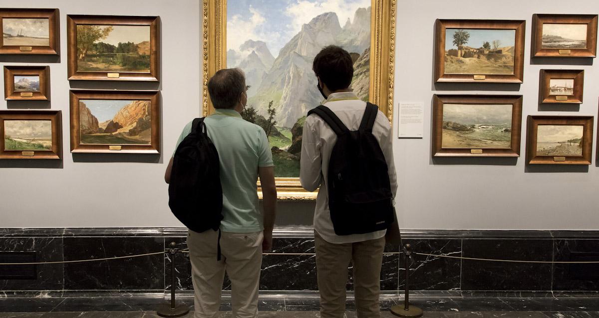 El Museo Nacional del Prado presenta la reordenación de las salas dedicadas al siglo XIX. © Luis Domingo.