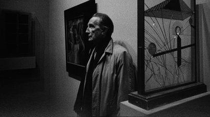 Retrato de Marcel Duchamp en Nueva York en 1967 por Ugo Mulas. © Ugo Mulas Heirs. All rights reserved.