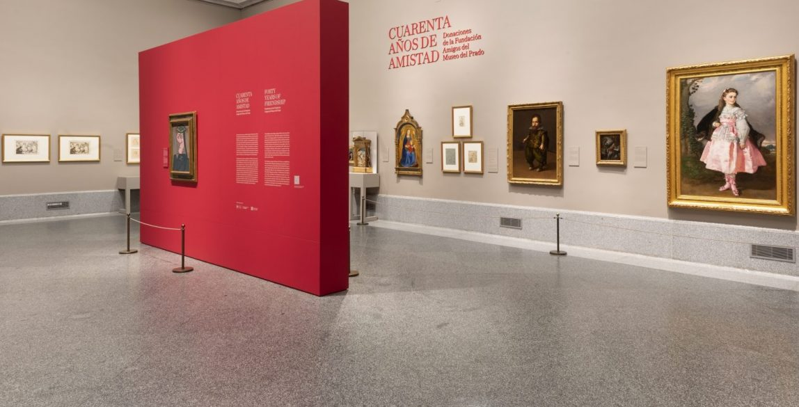 'Cuarenta años de amistad. Donaciones de la Fundación Amigos del Museo del Prado'. Imagen de la sala de exposición. Foto © Museo Nacional del Prado.