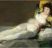 Francisco de Goya. La maja vestida, 1800-1807. Óleo sobre lienzo, 94,7 × 188 cm. Madrid, Museo Nacional del Prado © Photographic Archive. Museo Nacional del Prado. Madrid.