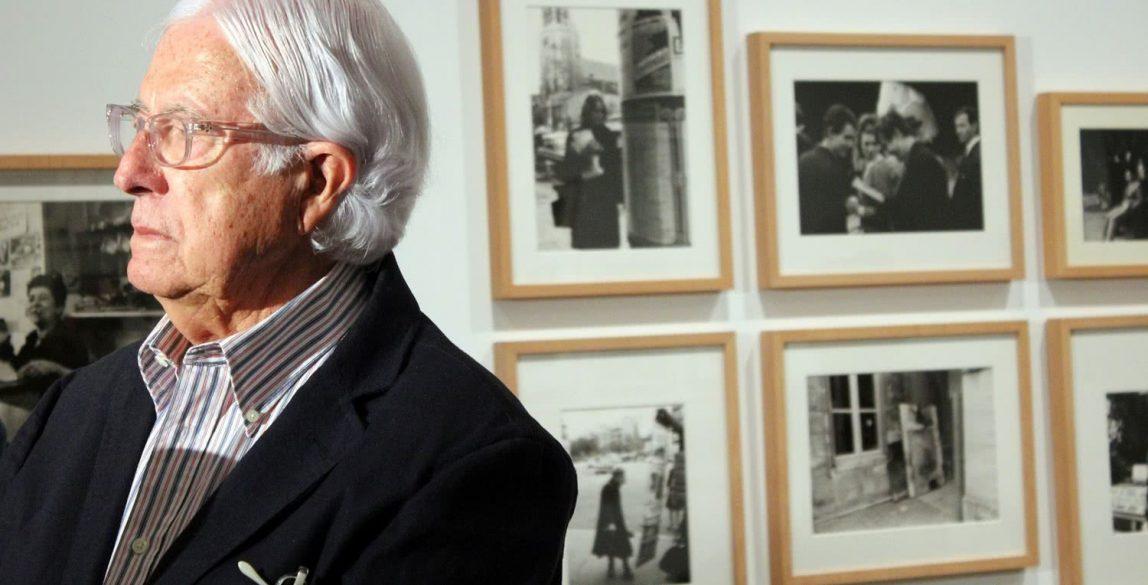 Carlos Pérez Siquier en la presentación de Humanismo y subjetividad en la fotografía española de los años 50 y 60. El caso Afal. Museo Nacional Centro de Arte Reina Sofía. Foto: Luis Martín.