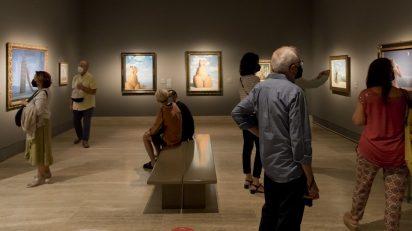 Museo Nacional Thyssen-Bornemisza. 'La máquina Magritte'. ©Luis Domingo.