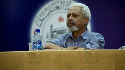 Abdulrazak Gurnah. PalFest - originally posted to Flickr as Abulrazak Gurnah on Hebron Panel.