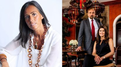 Felipa Jove y el matrimonio Jorge M. Pérez y Darlene Boytel-Pérez.