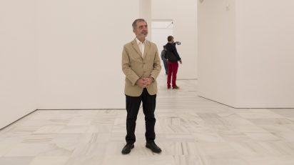 Manuel Borja-Villel en la presentación de las nuevas salas, con las que el Reina Sofía recupera 2.000 metros cuadrados para exponer su colección. © Luis Domingo.