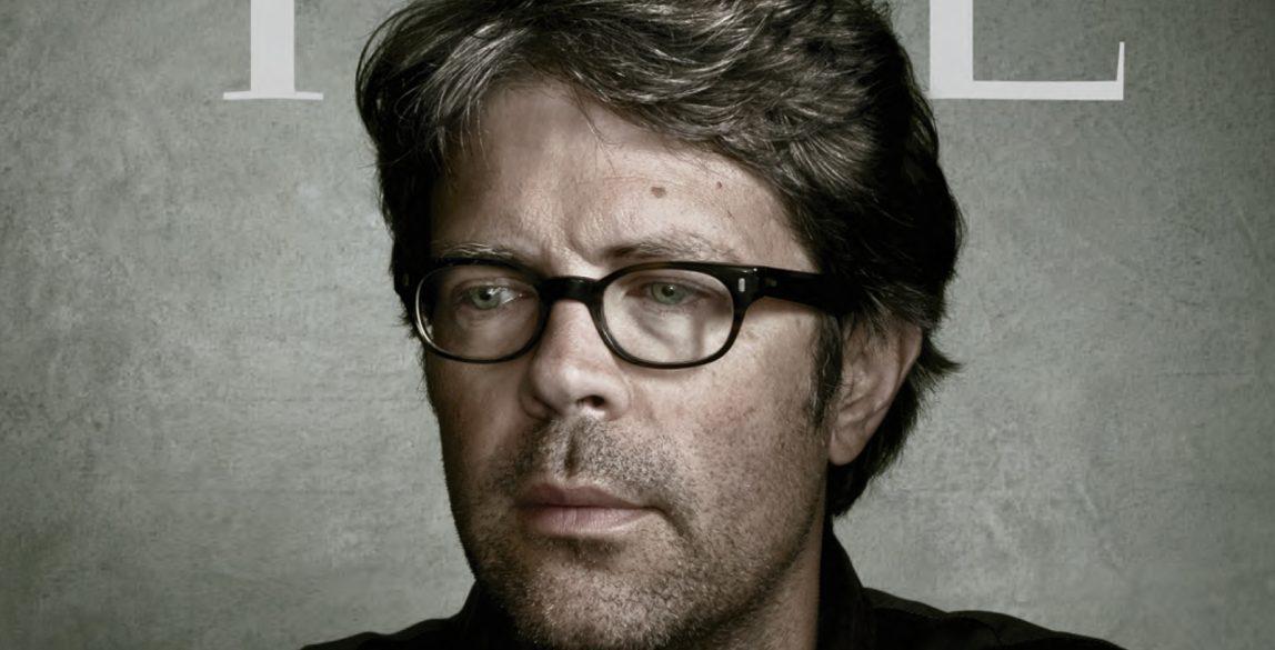Jonathan Franzen en la portada de 'Time'.
