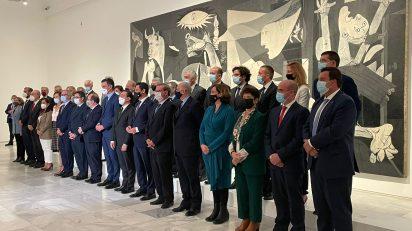 25/10/21. Constitución del Pleno de la Comisión Nacional para la Conmemoración del 50 Aniversario de la Muerte de Picasso.